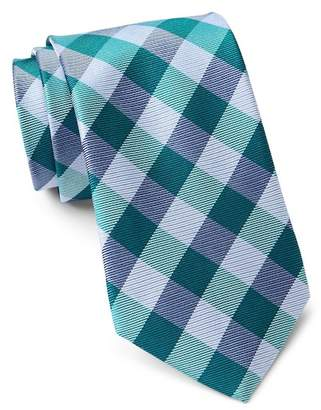 Tommy Hilfiger Silk Big Gingham Tie