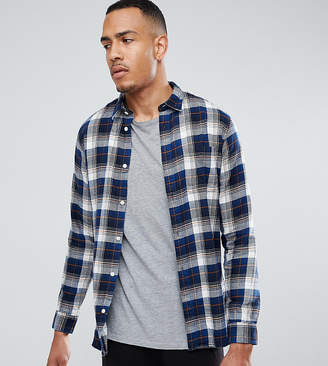 Selected Regular Fit Shirt in Brushed Check Flanel