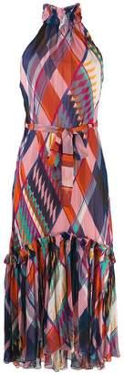 Diane von Furstenberg Selena sleeveless maxi dress