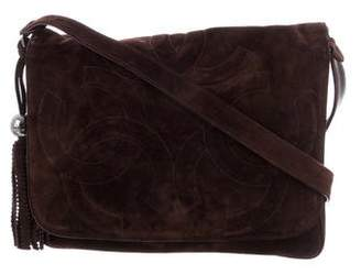 Chanel CC Suede Messenger Bag