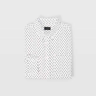 Club Monaco Slim Micro Geo Shirt
