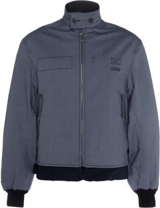 Lanvin Striped Blouson Bomber Jacket