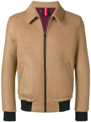 Hydrogen fitted bomber jacket