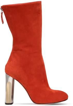 Alexander McQueen 105mm Suede Boots