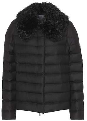 Moncler Gamme Rouge Baker down cashmere jacket