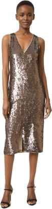 alice + olivia Tyra Sequin Dress $698 thestylecure.com