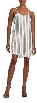Striped Shift Dress $78 thestylecure.com