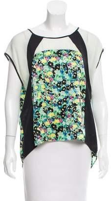 Rebecca Minkoff Silk Floral Top