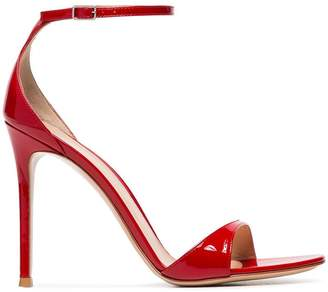 Gianvito Rossi 105 Patent Leather Sandals