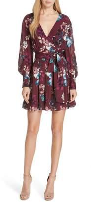 Nicholas Floral Silk Wrap Dress