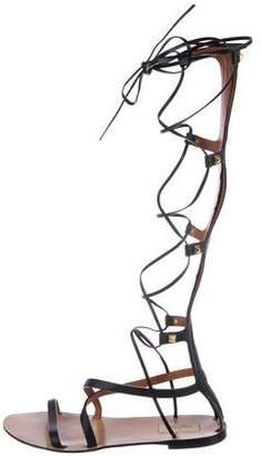 Valentino Rockstud Gladiator Sandals