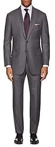 Kiton Men's KB Wool Two-Button Suit-Gray