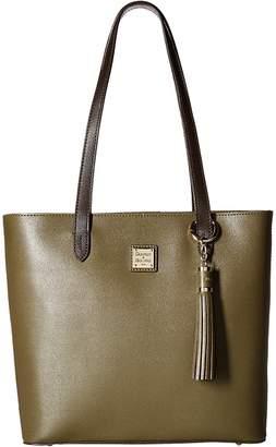 Dooney & Bourke Saffiano Two-Tone Hadley Tote Tote Handbags