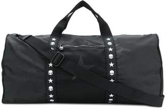 Hydrogen logo ribbon handle tote