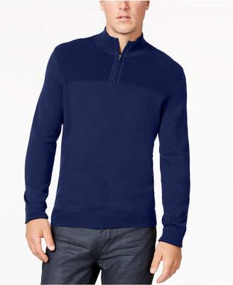 Alfani Men Quarter-Zip Knit Sweater
