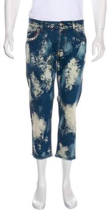 Gucci 2017 Bleached Jeans