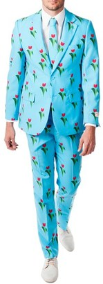 Men's Opposuits 'Tulips From Amsterdam' Trim Fit Two-Piece Suit With Tie $99.99 thestylecure.com