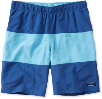 """L.L. Bean L.L.Bean Classic Supplex Sport Shorts, Colorblock 9"""""""