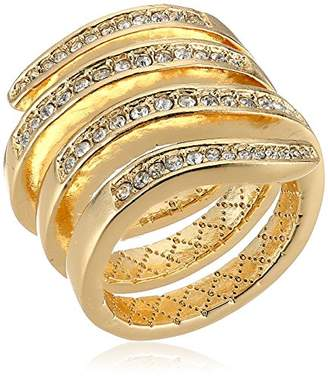 Laundry by Shelli Segal Pave Wrap Ring