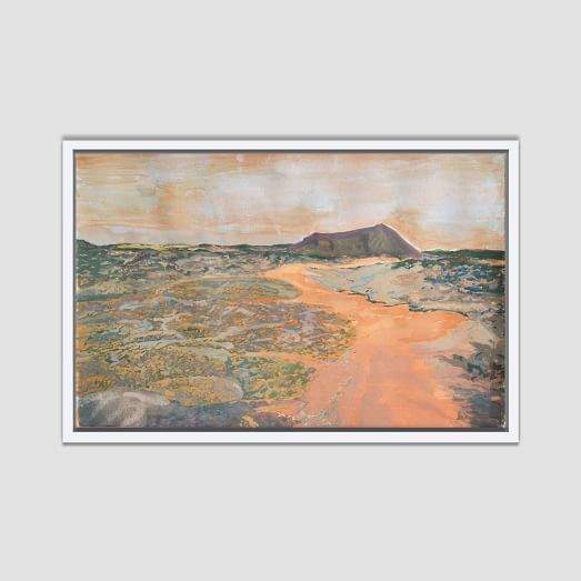 Framed Canvas Print - Forgotten Path