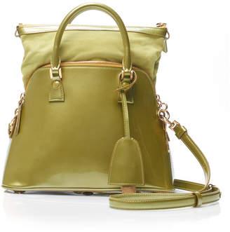 Maison Margiela 5AC Xtra Small Shiny Leather Top Handle Bag