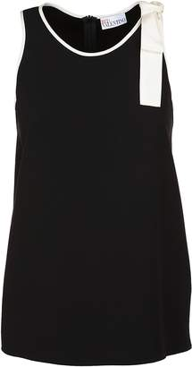 RED Valentino Bow Detail Vest