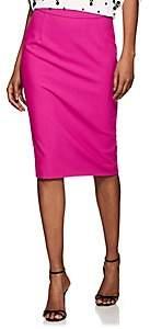 Narciso Rodriguez Women's Virgin Wool Canvas Pencil Skirt - Fuschia