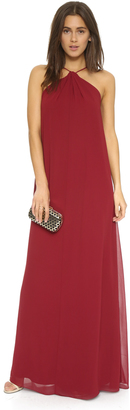 Joanna August Casey Keyhole Twist Maxi Dress $285 thestylecure.com