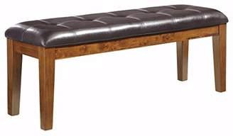 Signature Design by Ashley Ashley Furniture Signature Design - Ralene Dining Room Bench - Rectangular - Vintage Casual - Medium Brown