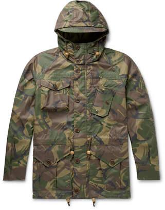 Polo Ralph Lauren Camouflage-Print Waxed-Nylon Field Jacket