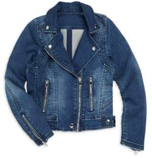 Blank NYC Girl's Summer Break Denim Jacket