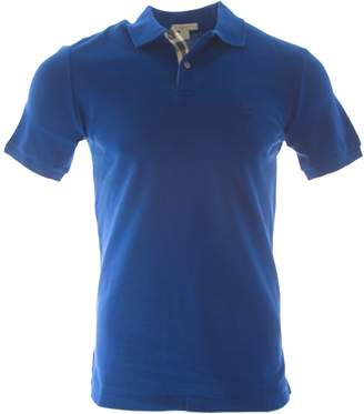 Burberry Mens Short Sleeve nova Check Placket Polo Shirt