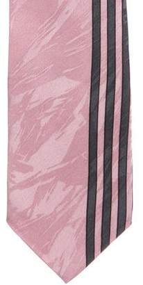 Pierre Balmain Silk Geometric Print Tie