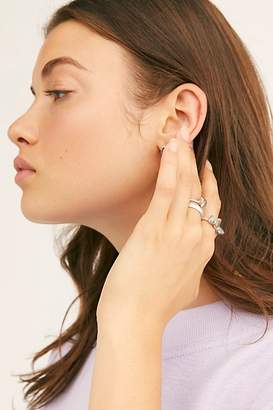 Free People Raw Stone Ring Set