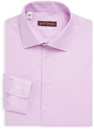 Hickey Freeman Men's Stripe Long Sleeve Shirt
