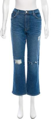 Iro Straight-Leg Mid-Rise Jeans w/ Tags Outlet Extremely 7GOU8