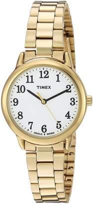 Timex Women's TW2R23800 Easy Reader Stainless Steel Bracelet Watch