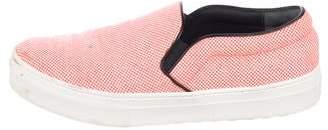 Celine Canvas Platform Sneakers
