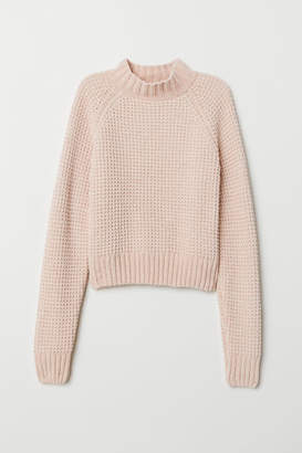 H&M Rib-knit Sweater - Orange