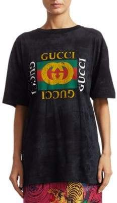Gucci Studded Cotton Tee