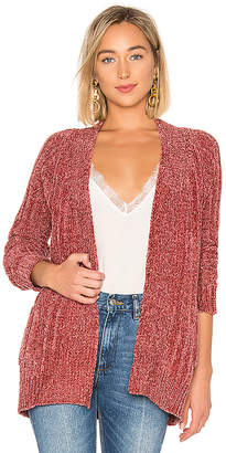 About Us Amber Oversized Chenille Cardigan