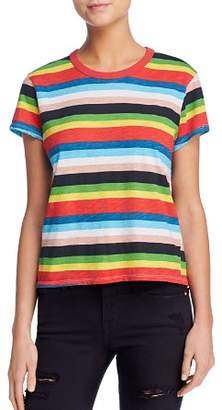 Pam & Gela Rainbow Striped Tee