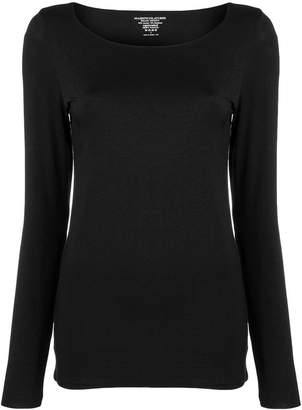 Majestic Filatures long sleeved jersey top