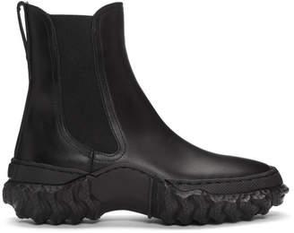 Marni Black Chunky Chelsea Boots