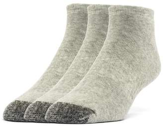Galiva Men's Cotton ExtraSoft Ankle Cushion Socks - 3 Pairs