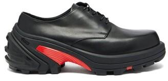 Alyx Detachable Sole Leather Derby Shoes - Mens - Black
