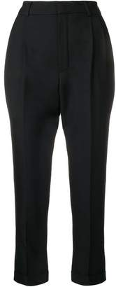Saint Laurent pleated tailored trousers