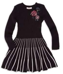 Catimini Little Girl's& Girl's Knit A-Line Dress