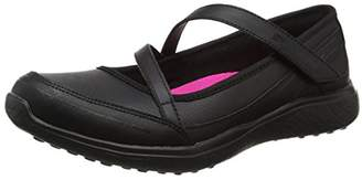 Skechers Girls' Microburst-Scholar Spirit Mary Janes