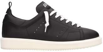 Golden Goose Starter Black Leather Sneakers
